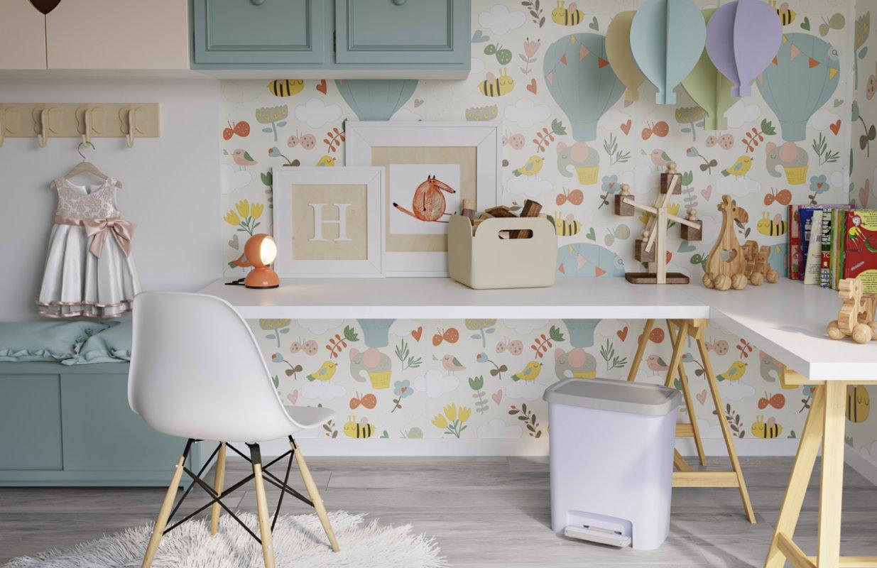 Pastellfarbe für jeden Raum