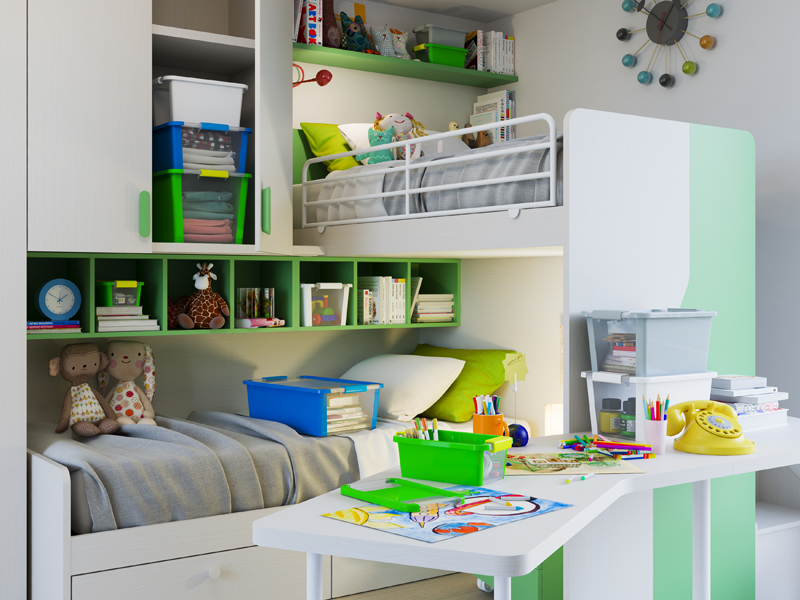 Kis Come organizzare la cameretta di una bambina | gallery 7