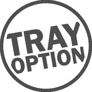 Tray option