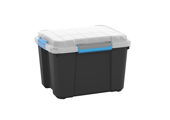variante Schwarz/Transparent/Hellblau-Grau