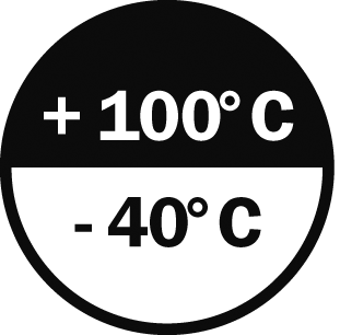 -40°/+100° C