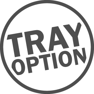 Tray option
