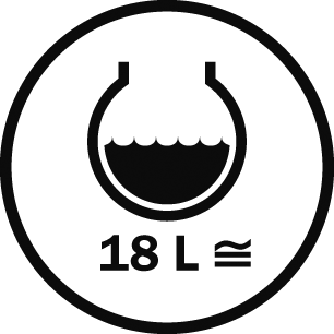 Capacity 18 L