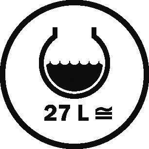 Capacity 27 L