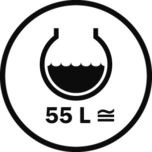 Capacity 55 L